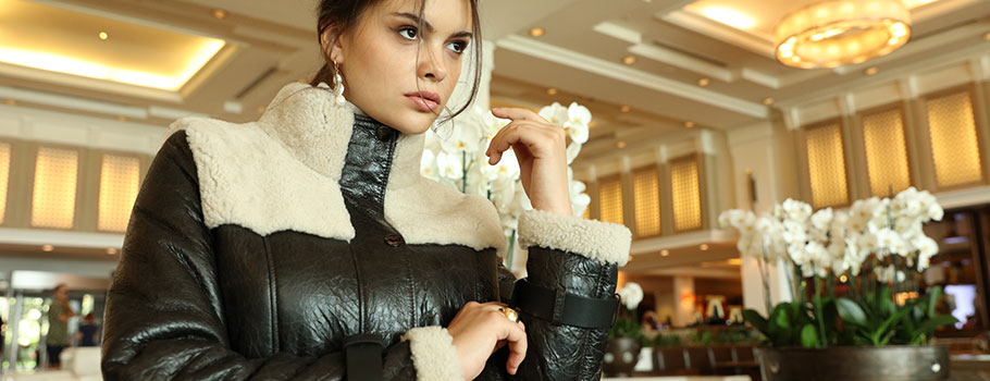 Quality and Comfort Combine With Shearling Jackets