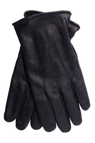 Stitched Mens Leather Gloves