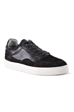 Madison Leather Black Sneaker