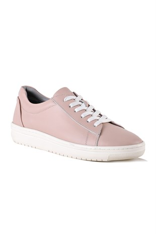 Jasmine Salmon Leather Women Sneaker