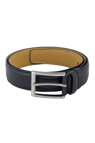 Single Stitched Classic Belt in Black